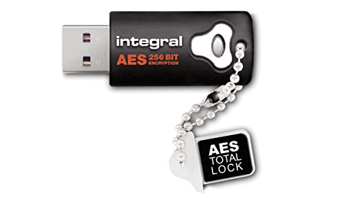 INTEGRAL 8GB AES-256 USB-Stick crypto Total Lock