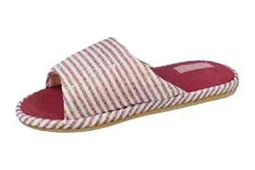 de fonseca Ciabatte Pantofole Aperte Donna MOD. Potenza E W650 Rosa (Numeric_37)
