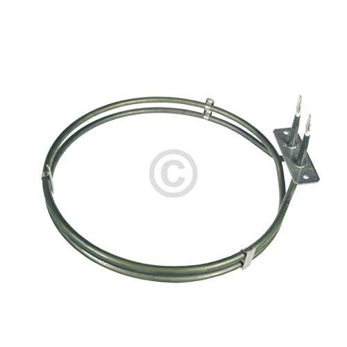 DL-pro Heizelement Heißluftheizung 2400W 230V für AEG Electrolux Juno Zanker 387142510/8 3871425108 für Backofen Herd