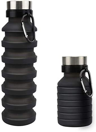 Collapsible Water Bottle MOLYHUA 18oz 550ML Designed for Travel and Outdoor Foldable Sports product image