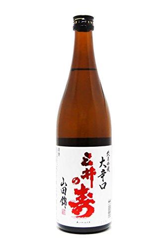 三井の寿 (みいのことぶき) +14 大辛口純米吟醸 山田錦 720ml
