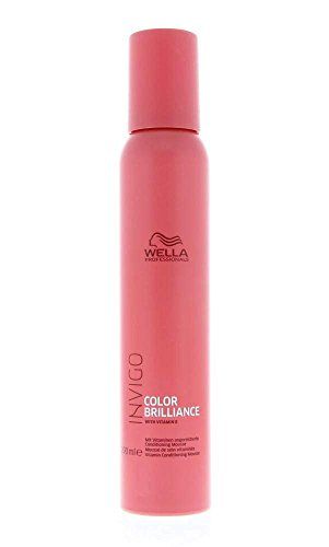 Wella Professionals Invigo Color Brilliance Vitamin Conditioning Mousse, 200 ml