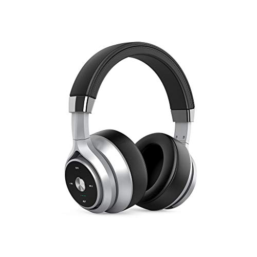 Wireless Headset Headset Bluetooth Heavy Bass Quad-core Dual-action Coil Noise Reduction Lego Sound Quality Lossless Headset Full-inclusive Ear Phone Computer For Huawei Apple Xiaomi ( Color : Gray )