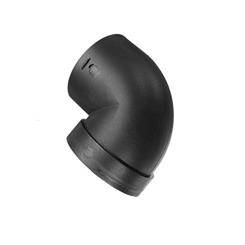 DSLK Round Air Ducting Air Conditioner Hose 75mm Plastic L Air Ducting Pipe Elbow Outlet Connector Fit For Webasto Eberspaecher Air Parking Heater Accessory