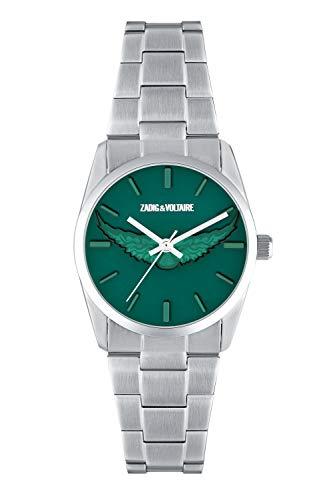 Zadig & Voltaire – Reloj de Pulsera para Mujer – Cuarzo