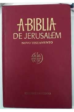 A Bíblia De Jerusalém C/ Índice Encadernada