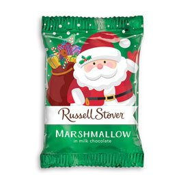 Russell Stover Marshmallow Pumpkin Covered in Milk Chocolate
