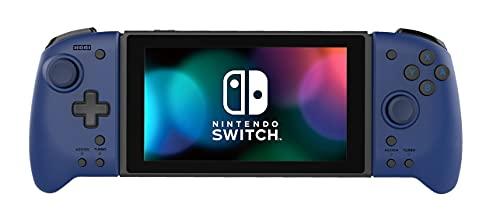 Hori Nintendo Switch Split Pad Pro (Blue) Ergonomic Controller for Handheld Mode - Officially Licensed By Nintendo - Nintendo Switch