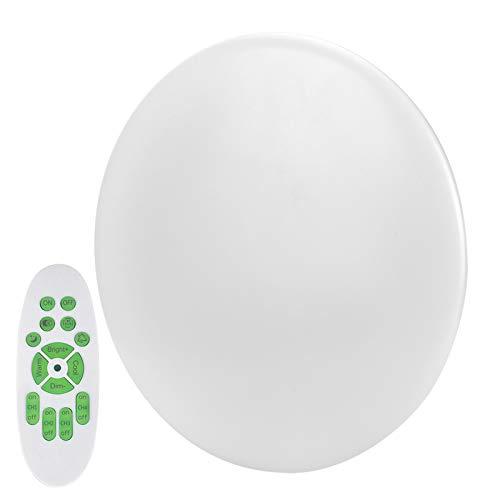Jopwkuin Luz de Techo, personalice su Temperatura de Color de luz Luz de Techo Inteligente para Cocina, baño, Inodoro, Porche, balcón, habitación de niños