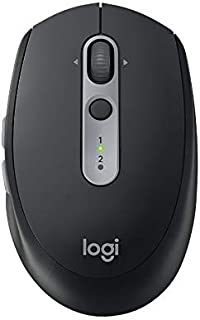 Logitech M590 Multi-Device Silent Wireless Mouse - Grey