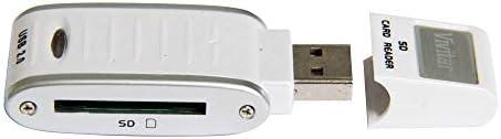 Leitor e Gravador de Cartão de Memória SD/SDHC Via USB, Vivitar, Acessórios para Câmeras Digitais