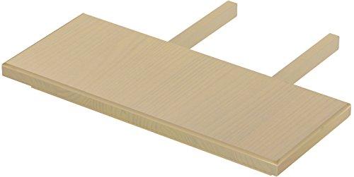 Brasilmöbel Ansteckplatten Set 30x73 Birke Rio Classiko oder Rio Kanto Pinie Massivholz Echtholz Größe & Farbe wählbar für Esstisch 2x Tischverlängerung Tisch Erweiterung ausziehbar