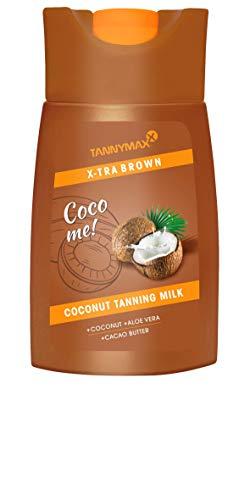 petit un compact TannymaxxX-Tiger Brown Activateur / Accélérateur de Bronzage au Lait de Coco 200 ml