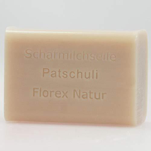 Florex Schafmilchseife 100 g Stück Seife Naturseife Schafmilch (Patchouli)