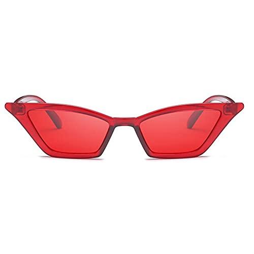 Nuevo 2021 Gafas de gato Gafas de sol Mujeres Pequeñas Vintage Diseñador de la marca Gafas de sol Retro Amarillo Ladies Gafas de sol Gafas Mujeres Sombras Sol para caras pequeñas UV barato Hombres de