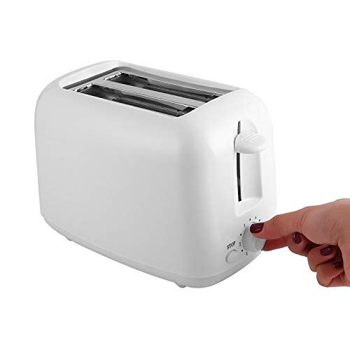 SMEJS Automatic Toaster 2-Slice Breakfast Sandwich Maker Machine 700W 1100-240V Baking Cooking Appliances Home Office Toasters