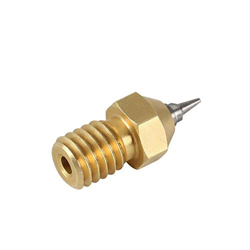 JIAHONG Accessories Monitoring Power 0.2/0.3/0.5mm 3pcs V6 1.75mm Airbrush Nozzle Adapter for 3D Printer 3D Printer