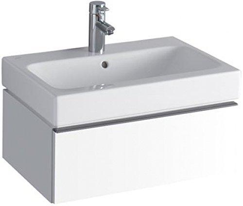 Keramag iCon Waschtischunterschrank 840260 595x240x477 mm, Alpin Hochglanz