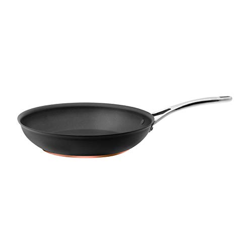Anolon Nonstick Fry Pan Hard Anodized Aluminum Skillet, 12-Inch, Dark Gray