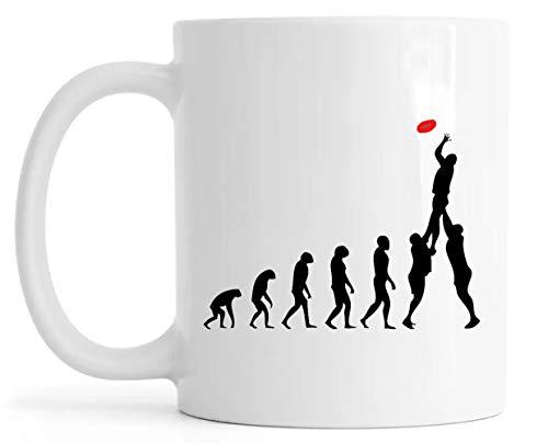 Rugby Evolución Lustroso Cerámica Taza Mug Glossy Mug Cup