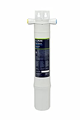 EcoPure Main Faucet Under Sink Water Filtration System