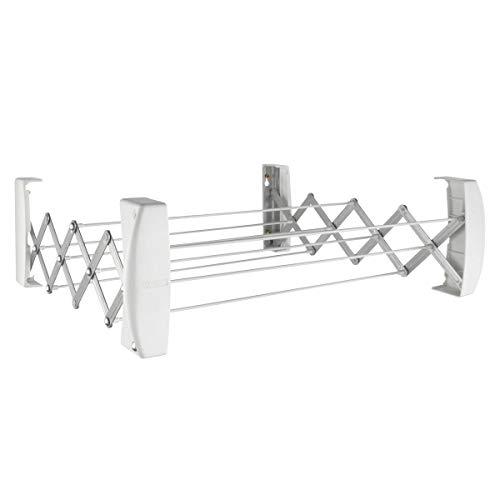 Leifheit S/échoir sur pied Classic 200 Flex /étendoir /à linge r/ésistant /à leau avec hauteur r/églable s/èche linge avec longueur d/étendage de 20 m