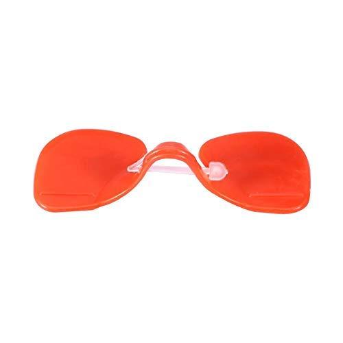 HEEPDD Paquete de 100 Gafas de Pollo Gafas Peepers Plástico Anti-Peck Tipo Protector de Ojos Gallina Prevención de Pecking Herramienta de Equipo de Granja Avícola