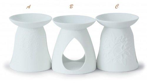 Yankee Candle - Brucia essenze per tart, colore bianco