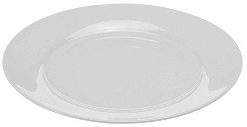 Teller in weiß - Geschirrset - Speiseteller, Suppenteller und Schalen (30 cm - Speiseteller 6er Set)
