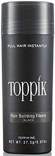 توبيك ألياف لتعبئة فراغات الشعر والصلع - اللون أسود - 27.5 جرام