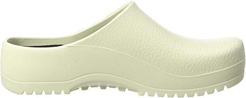 Birki's Unisex-Erwachsene Super Birki Clogs, Weiß White, 37 EU