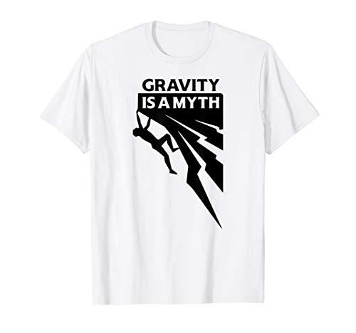 GRAVITY IS A MYTH I Geschenk für Klettern & Bouldern