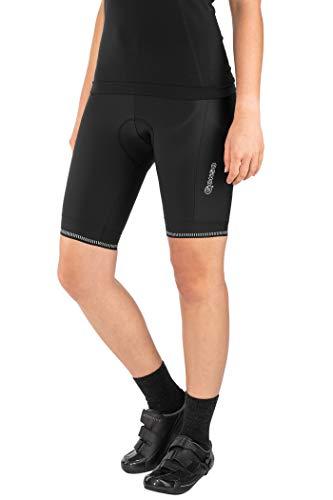 Gonso Dames Sitivo Pantalons de Cyclisme, Noir, 34