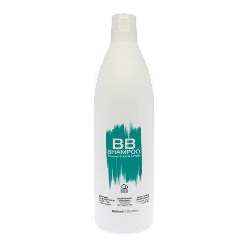 BB Hair Care - Champú Multivitamínico - Producto Profesional Ideal para Cabellos Largos y Dañados - Fortalece y Protege - Previene las Puntas Abiertas y la Rotura - Desenreda - 1 L