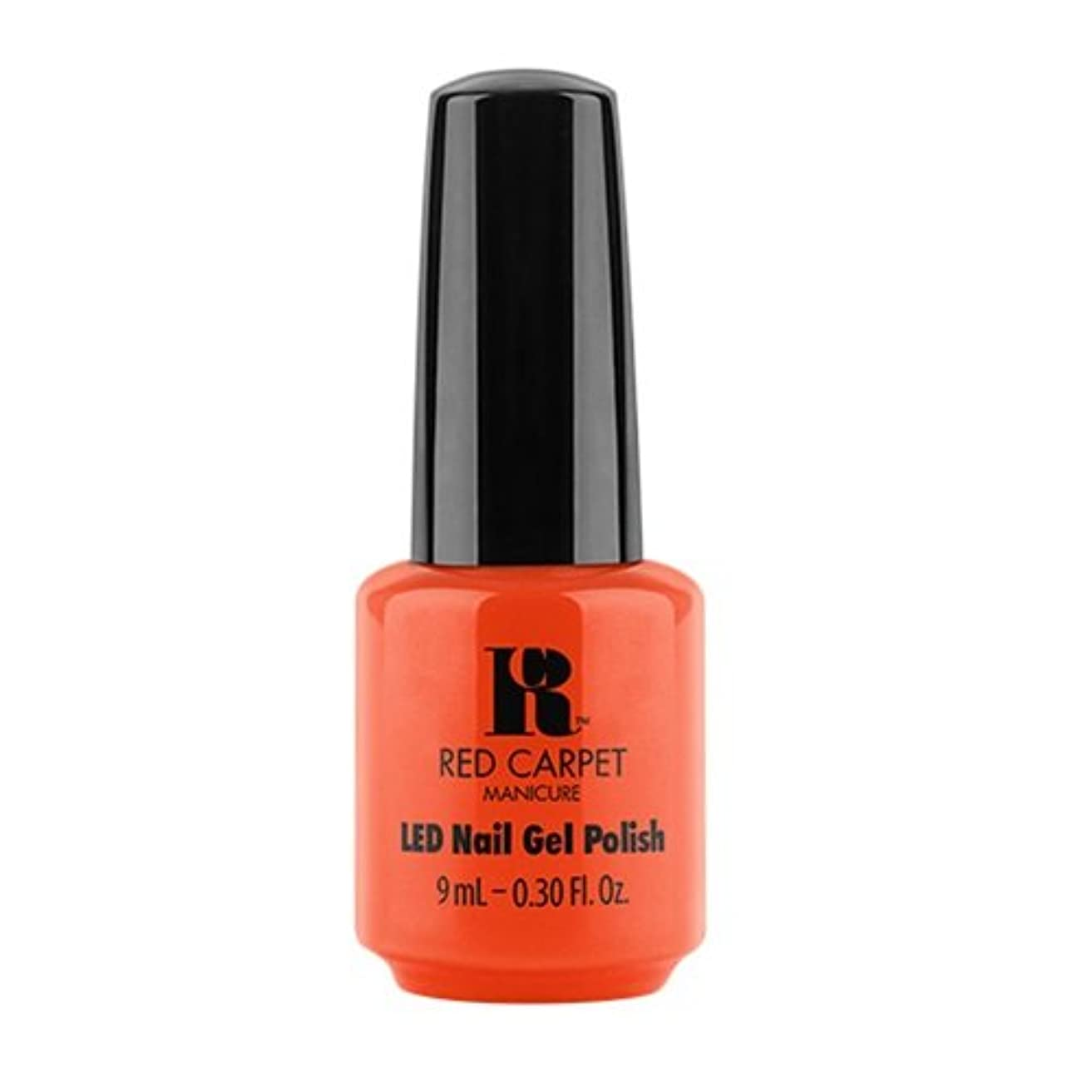 ベジタリアン無視シチリアRed Carpet Manicure - LED Nail Gel Polish - Summer 2017 Fiji Fever - Neon Nights - 0.3oz / 9ml