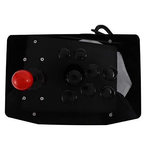 Monland Arcade Joystick USB Juego de Computadora Palanca de RetencióN Manejar de Joystick para Computadora
