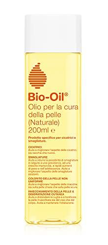 Bio-Oil Olio per la Cura della Pelle Naturale, per Smagliature, Cicatrici, Pelle Secca e Macchie...