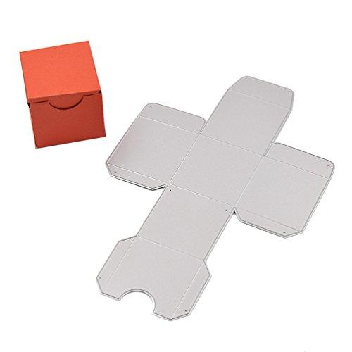 YNuth Stanzschablone Box Schachtel Kasten für Geschenk Süßigkeiten Handwerk DIY