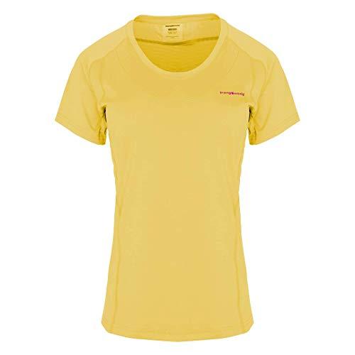 Trangoworld Bocela T-Shirt Femme, Jaune Moutarde, L