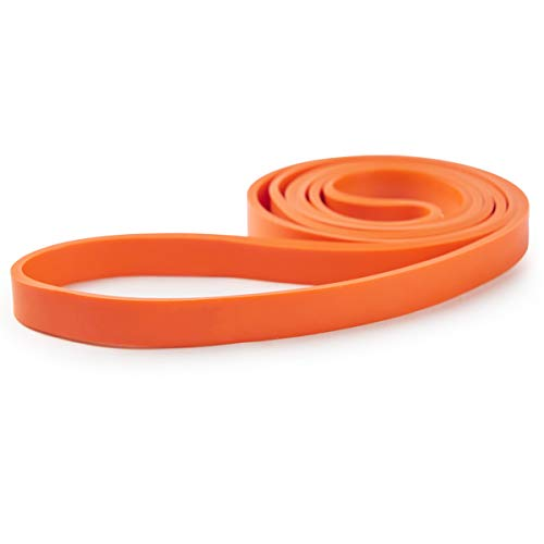 WSAKOUE Pull Up Assistance Bands for Workout/Exercise  Powerlifting Band  Mobility Band  Heavy Duty Resistance Band  for Strength Training Physical Therapy  Set of 4 S Orange