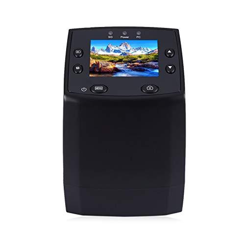 GUOQI Scanner per Pellicole, Scanner per Diapositive/Pellicole ad Alta Risoluzione, Negativi 35mm 135mm Slide Film Converter, Mini Scanner Digitale, Portatile