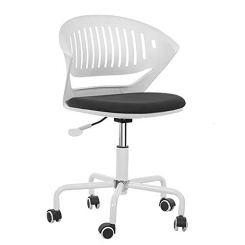 HUOQILIN liftstoel, eenvoudige studiestoel, studie, klein appartement, compacte draaibare stoel, bureaustoel