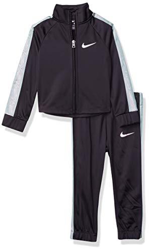 Nike - Juego de 2 piezas para niña (niños pequeños) - Negro - 6 años