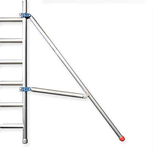 Rolsteiger met enkele Voorloopleuning 135 x 305 x 8,2 meter werkhoogte