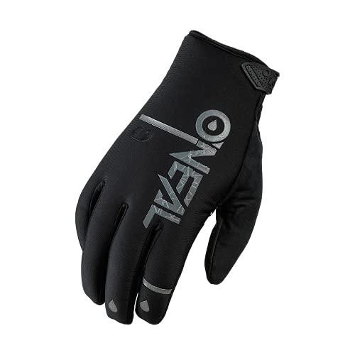 O'NEAL   Fahrrad- & Motocross-Handschuhe   MX MTB DH FR Downhill Freeride   Wasserdicht, atmungsaktiv, Mit Silikonprint für Grip bei Nässe   Winter WP Glove   Erwachsene   Schwarz   Größe S