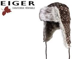Eiger Lady Bonnet en Fourrure tricotée L (59 cm)
