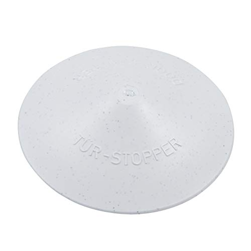 proventa® Der ultimative Tür-Stopper, Made in Germany, weiß, Ø 12 cm, 25 mm hoch