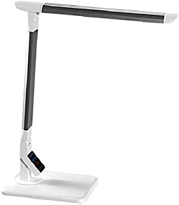 PureOptics LED Adjustable Desk Lamp, 3 Color Temperatures, Dimmable, Touch Control (VLED1500)
