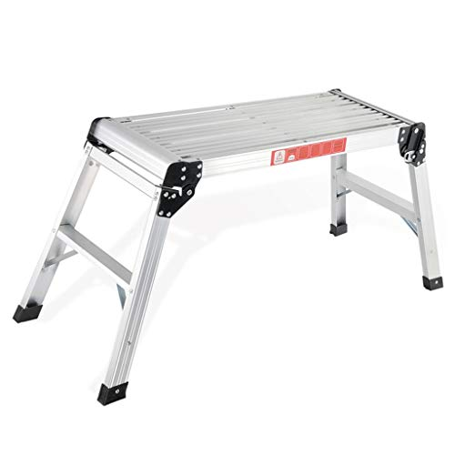 Auto wassen Platform Ladder, Multifunctionele klaptafel Familie/Hotel/Outdoor Work Ladder Vissen Portable Ladder Kruk (Size : 41.5 * 107 * 50cm)