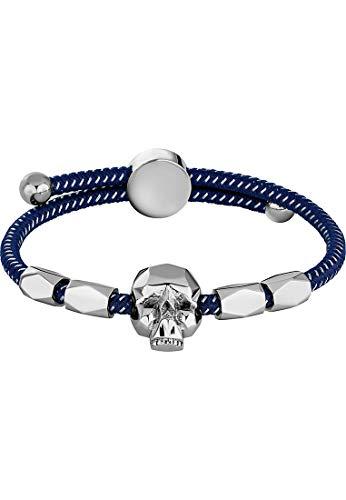 Police Herren-Herrenarmband Konso Kunststoff/Metall One Size Blau 32012829